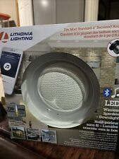 Lithonia Lighting 4000K 6-Inch Dimmable Led Module with Bt Wireless Speaker