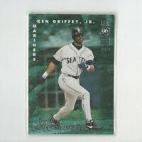 1996 Leaf Masterstrokes Ken Griffey Jr. Insert card #'d 4716/5000 MARINERS! HOF!