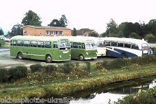 Crosville 849RFM & 197KFM Welshpool 15/09/74 Bus Photo