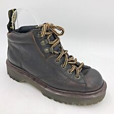 Vintage Doc Dr Martens Air Wear Brown 8287 Ankle Boots US size 6 UK 4 England B6