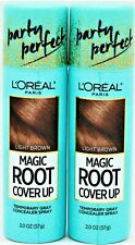 L'Oréal Paris Magic Root Cover Up Gray Concealer Spray Light Brown 2oz