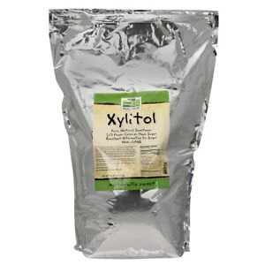 NOW Foods Xylitol 15 lbs FREE SHIPPING. MADE IN USA. FRESH