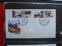 AUSTRALIA 1999 AAT MAWSONS HUT SET 4 STAMPS FDC FIRST DAY COVER DAVIS