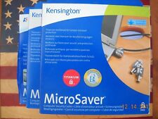 Kensington Titanium Microsaver 64068 Notebook Laptop Security Lock New In Box