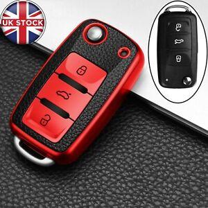 3 Button Car Remote Key Fob Cover Case For VW Volkswagen Polo Jetta Golf MK6