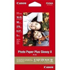Papel Fotográfico - canon Paper Pp-201 (5x7 20 Sheets) 2311b018