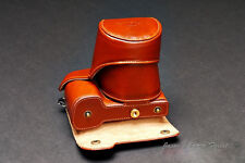 Handmade Vintage Leather Full Camera Case for Sony NEX7 Black and Brown 2 Colors