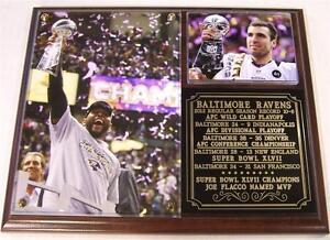 Baltimore Ravens Super Bowl XLVII Champions NFL Photo Plaque Ray Lewis