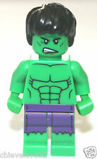 Lego MARVEL SUPER HEROES The Hulk Minifigure  Brand New and GENUINE!