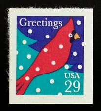 1994 29c Christmas, Cardinal in the Snow & Tree, SA Scott 2874 Mint F/VF NH