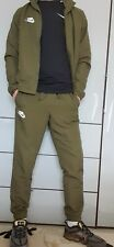 Nike Used Full Tracksuit Medium Khaki Scally Int