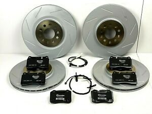 Aston Martin DB9 & V8 Vantage Front & Rear Brake Pads & Rotors Set - Genuine