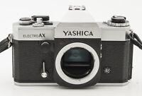 Yashica Electro AX Gehäuse Body Spiegelreflexkamera