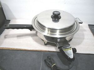 """LIFETIME 11""""1150W  ELECTRIC SKILLET by West Bend"""