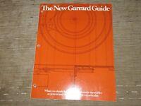 Garrard Zero 2000B 990B 770M 440M 440c 440 Turntable Original Catalogue