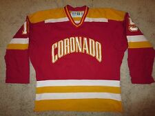 Coronado Ice Hockey #15 Game worn Jersey XL Adult