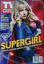 SUPERGIRL - TV GUIDE - APRIL 26 & MAY 9, 2021 BRAND NEW