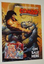 2-Sided 1994 Spawn/Angela/Conan the Barbarian 22x17 Combo comic art promo poster