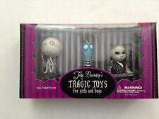 TIM BURTON'S TRAGIC TOYS 3-PACK PVC FIGURINE BOX SET MUMMY BOY TOXIC PENGUIN 124
