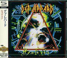 DEF LEPPARD HYSTERIA 2011 JAPAN RMST SHM HIGH FIDELITY FORMAT CD - GIFT QUALITY!