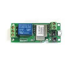 DC5V Jog self-lock  WiFi Wireless Switch Relay Module by APP Phone Control  CA
