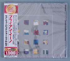 Brian Eno ���– More Music For Films Japan Promo CD w/ Obi TOCP-54286 2011