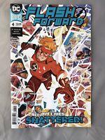 FLASH FORWARD #4 -Main Cover DC Comics 2019 NM Condition 🔥🔑🔥🔑