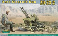 ACE — ZU-23-2 AA Ant-aircraft gun — Plastic model kit 1:48 Scale #48101