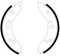 Mintex Rear Brake Shoe Set MLR2  - BRAND NEW - GENUINE - 5 YEAR WARRANTY