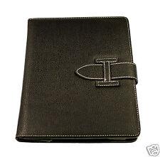 Tasche Hülle für Apple iPad Air 5 Schutz Case Cover Etui SCHWARZ Leder