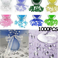 Confetti Clear Scatters Party Decoration Crystal Crafts Acrylic Diamond Wedding