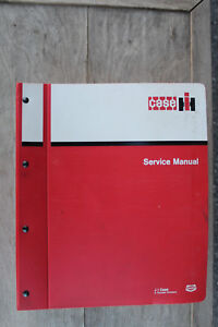 Case-IH 85 and 95-series tractors original service manual #8-85063