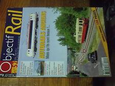 3µ? revue Objectif Rail n°52 Rail & route caisse mobile Pontresina MS61 Série 18