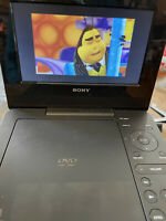 "Sony DVP-FX730 Portable DVD Player (7"") Black - UNIT ONLY No Power Cord No Remot"