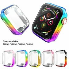 Full TPU Funda Carcasa Protector de pantalla Para Apple Watch Serie 5 4 3 2