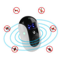 Ultrasonic Anti Mosquito Insect Killer Pest Reject Flies Mouse Mice Repellent