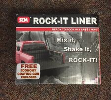 SEM 42250 BLACK ROCK-IT LINER KIT Truck Bed Coating with Gun