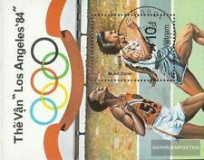 Vietnam bloque Un 27 (completa.Unusg.) usado 1984 olímpicos juegos de verano ´84