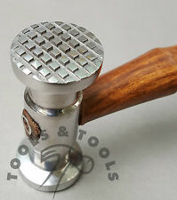 DARK HANDLE TEXTURING HAMMERS CHECKERED/ WIDE STRIPE REPOUSSE METAL JEWELRY TOOL