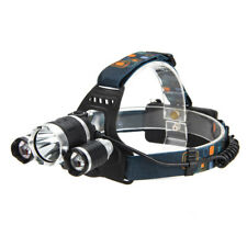 30000LM 3Head XML T6 LED 18650 Emergent Headlamp Headlight Head Torch Light HOT