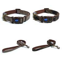 Ancol Heritage Herringbone Check Dog Puppy Collars Lead