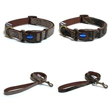 Ancol Heritage Herringbone Check Dog Puppy Collars Lead