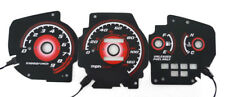 Type-R Red Glow 92 93 94 95 Honda Civic EG Ex Si Gauge Face Overlay New