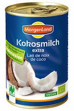 Bio Kokosmilch extra, 400 ml NEU & OVP von Morgenland