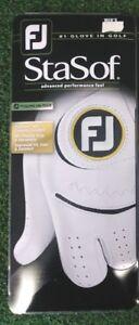 Footjoy FJ StaSof Men's Golf Glove NEW Left Hand