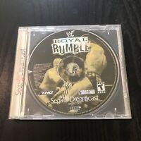WWF Royal Rumble (Sega Dreamcast, 2000) DISC ONLY