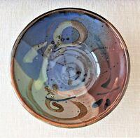 Mangum 2008 Signed Serving Bowl Studio Art Pottery, Ashville NC, Handmade