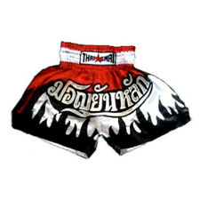 Muay Thai Shorts Mma Thailand Men Kick Boxing Grappling Satin Pants Wear Gym