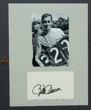 Indy 500 car & track owner Roger Penske signed autograph & photo set-VINTAGE!*