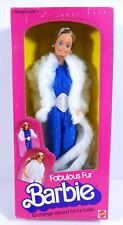 NIB BARBIE DOLL 1983 VINTAGE FABULOUS FUR RARE